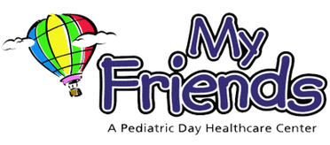 Logo, My Friends Pediatric Day Healthcare Center,
